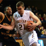 Australian-native Matthew Brazendale's career-high 25 points helped the Augustana Vikings to a 82-68 win over South Dakota School of Mines and Technology last Sunday.