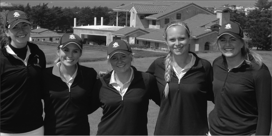 Escaping to warmer weather, the Augustana women's golf team placed second at the Otter Invitational in Seaside, Calif. on Tuesday.