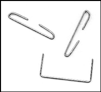 Staple or paperclip